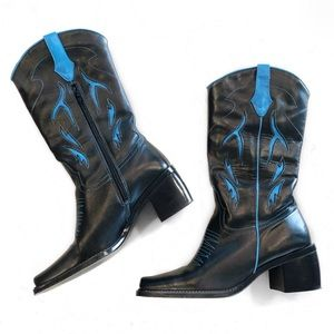 7be863f5330 Women's Cowboy Boots Square Toe on Poshmark